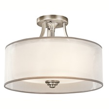 Lacey Ceiling Semi Flush Mount