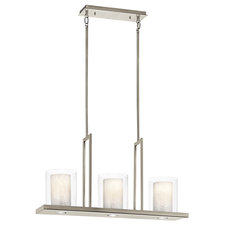 Triad Linear Chandelier