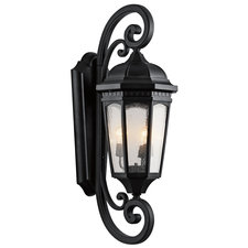 Courtyard Large Outdoor Wall Sconce