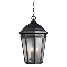 Courtyard Outdoor 3 Light Pendant