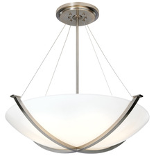 Argos Bowl with Aircraft Cable Pendant