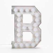 Vegaz B LED Alphabet Lamp
