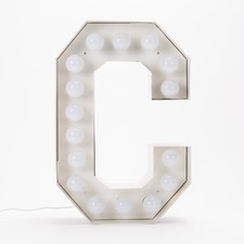 Vegaz C LED Alphabet Lamp