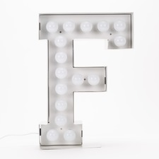 Vegaz F LED Alphabet Lamp