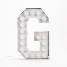 Vegaz G LED Alphabet Lamp