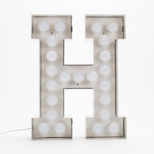 Vegaz H LED Alphabet Lamp