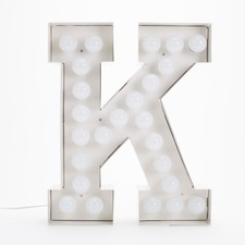 Vegaz K LED Alphabet Lamp