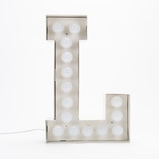 Vegaz L LED Alphabet Lamp