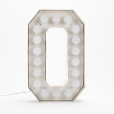 Vegaz O LED Alphabet Lamp