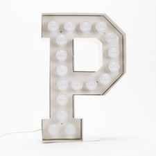 Vegaz P LED Alphabet Lamp