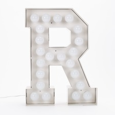 Vegaz R LED Alphabet Lamp
