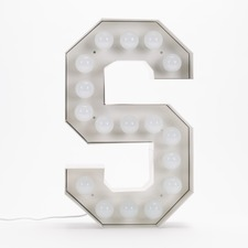 Vegaz S LED Alphabet Lamp