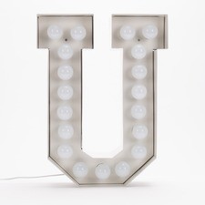 Vegaz U LED Alphabet Lamp