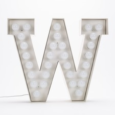 Vegaz W LED Alphabet Lamp