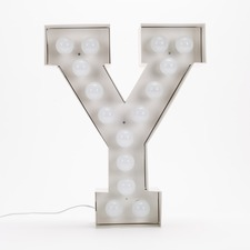 Vegaz Y LED Alphabet Lamp