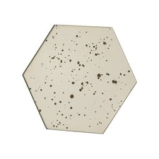 Olivia Hexagon Mirror with Stand