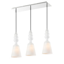 Sil 3-Light Linear Pendant