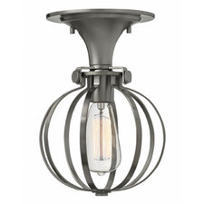 Congress Round Cage Ceiling Light Fixture