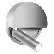 Ledtube Round Left Wall Sconce