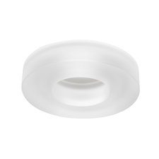 4180 Series 4 Inch Frost Solid Glass Collar Trim