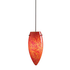 Decorative Low Voltage Flame Glass Pendant