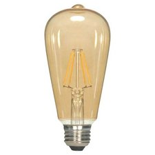 A19 Med Base LED 6.5W 120V Vintage Filament