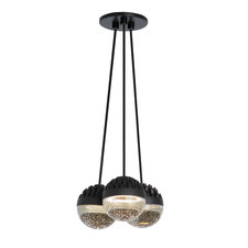 Sphere 3-Light Suspension Warm Color Dimming