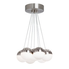 Sphere 7-Light Suspension Warm Color Dimming
