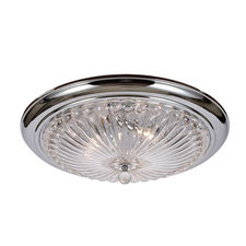 3 Light Ceiling Flush Mount