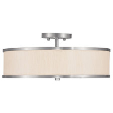Park Ridge Champagne Semi-Flush Ceiling