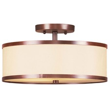 Park Ridge Bronze Semi-Flush Ceiling