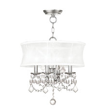 New Castle Chandelier/Ceiling Mount