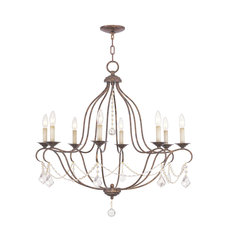 Chesterfield 8 Light Chandelier