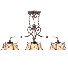 Bristol Manor 3 Light Linear Suspension
