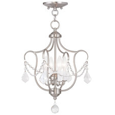 Chesterfield 4 Light Chandelier/Semi-Flush
