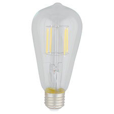 Edison A-Shape Dimmable LED Medium Base 2W 2700K 80CRI 120V