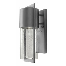 Shelter Compact Fluorescent Outdoor Wall Sconce