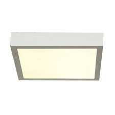 Strike Square Dimmable Ceiling Flush Mount