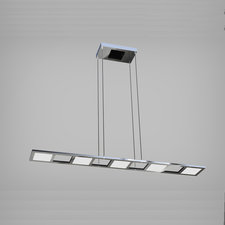Quadra Down Light Linear Suspension