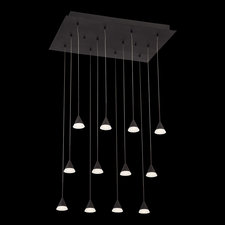 Albion LED 12 Light Pendant