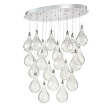 Connie LED Oval Multi Light Pendant
