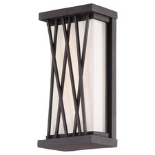 Hedge Outdoor LED Wall Sconce