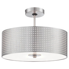 Grid Semi Flush Mount