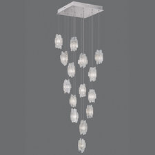 Natural Inspirations Square Canopy Pendant