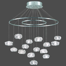 Natural Inspirations Concentric Circles Chandelier