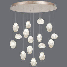 Natural Inspirations Large Round Canopy Pendant