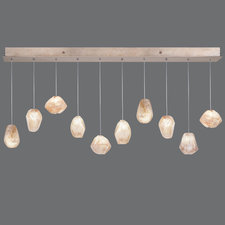 Natural Inspirations 10 Light Scattered Linear Pendant