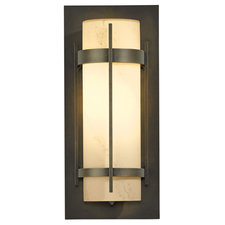 Banded LED Outdoor Wall Sconce
