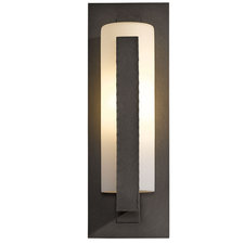 Forged Vertical Bars LED Outdoor Wall Sconce