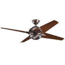 Sunburst Ceiling Fan with LED Light